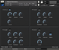 Modulation Effects Panel